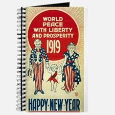 Vintage Happy New Year Journal