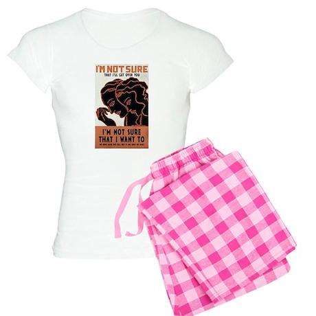 Vintage Deco Poster Women's Light Pajamas