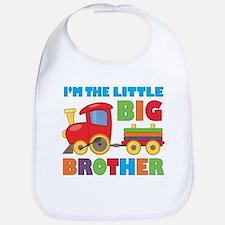Little Big Bro Train Bib