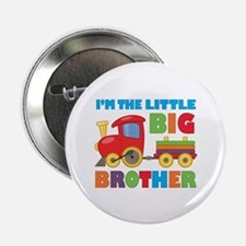 "Little Big Bro Train 2.25"" Button"