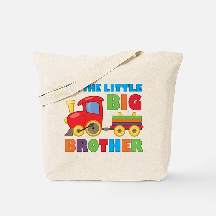 Little Big Bro Train Tote Bag