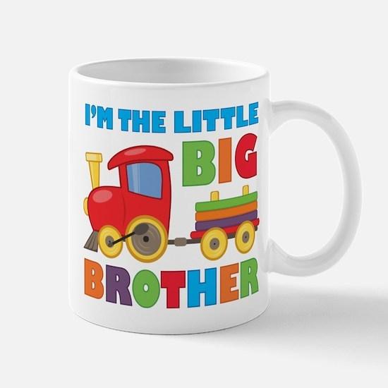 Little Big Bro Train Mug