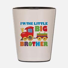 Little Big Bro Train Shot Glass