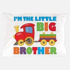 Little Big Bro Train Pillow Case
