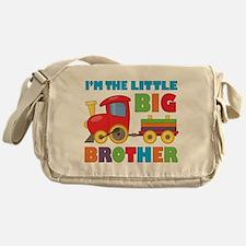 Little Big Bro Train Messenger Bag