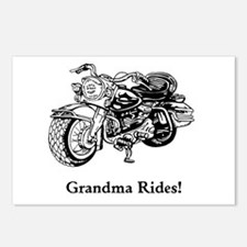 Grandma Rides Postcards (Package of 8)