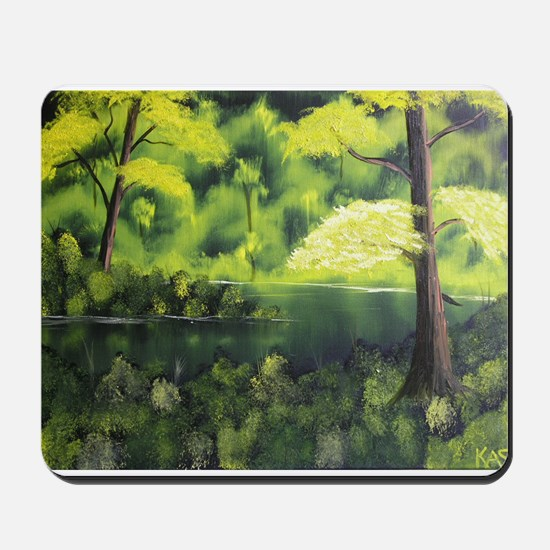 Mangrove Oasis Mousepad