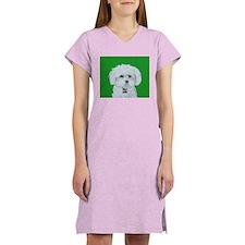 """Maltese Terrier"" Women's Nightshirt"
