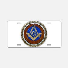 Freemasonry Aluminum License Plate