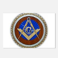 Freemasonry Postcards (Package of 8)