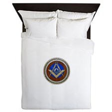 Freemasonry Queen Duvet