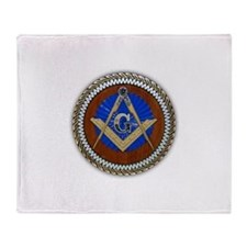 Freemasonry Throw Blanket