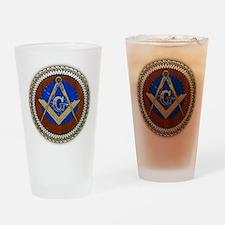 Freemasonry Drinking Glass