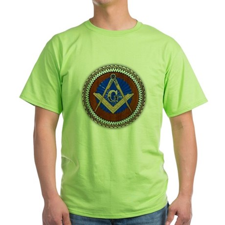 Freemasonry Green T-Shirt