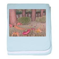Gnomish Garden baby blanket