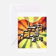 Trucker Retro Greeting Card