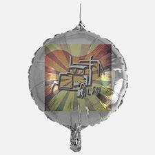 Trucker Retro Balloon