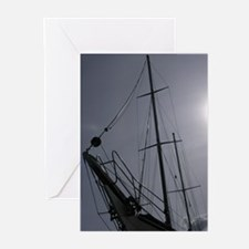 Sailing Silhouette Greeting Cards (Pk of 10)