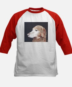 """Golden Retriever"" Kids Baseball Jersey"