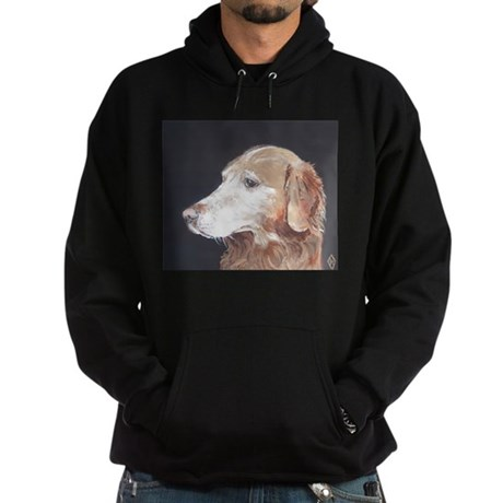 """Golden Retriever"" Hoodie (dark)"