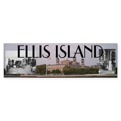 ABH Ellis Island Sticker (Bumper)