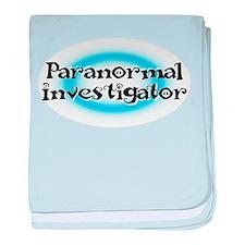Cute Paranormal investigator baby blanket