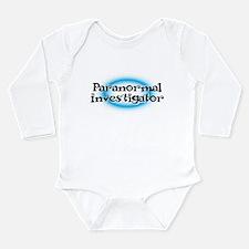 Paranormal Long Sleeve Infant Bodysuit