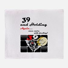 39+ Again-with Feeling! Throw Blanket