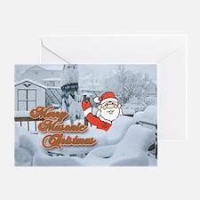 Merry Masonic Christmas Greeting Card