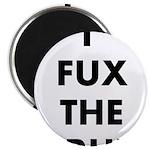 I FUX THE CRUX Magnet