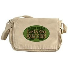 Squatchin Messenger Bag
