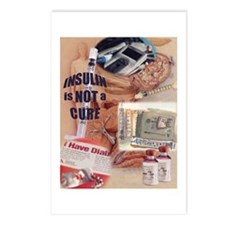 Insulin Is nOt a CurePostcards (Package of 8)