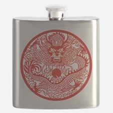 Chinese Dragon - Flask