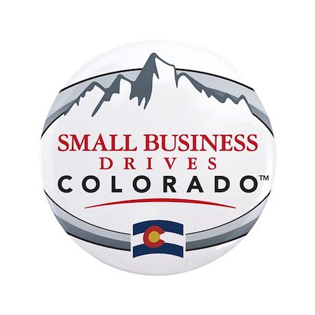 "Small Business Drives Colorado 3.5"" Button"