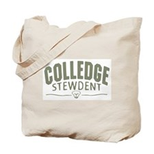 Colledge Stewdent Tote Bag
