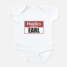 Earl Name Tag Infant Bodysuit