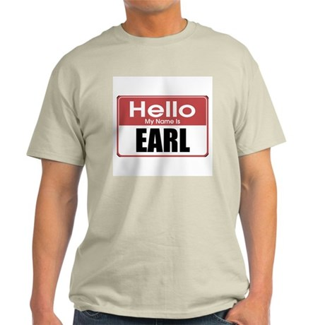 Earl Name Tag Light T-Shirt