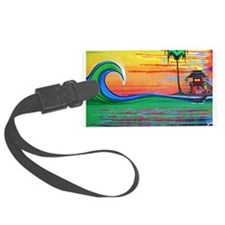 Drippy Island Luggage Tag