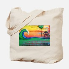 Drippy Island Tote Bag