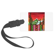 Cactus Point Luggage Tag