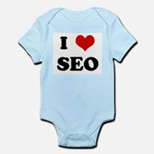 I Love SEO Infant Creeper