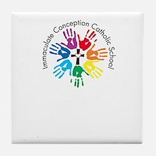 Color Hands 2012 Tile Coaster