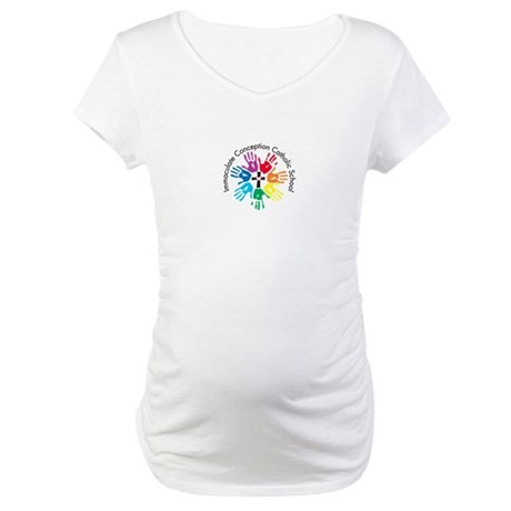 Color Hands 2012 Maternity T-Shirt