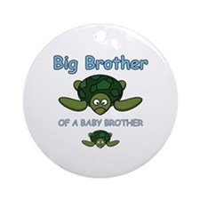 Big Brother Turtle Ornament (Round)