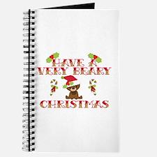 Beary Christmas Journal