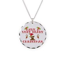 Beary Christmas Necklace