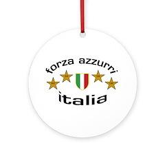 Forza Italia Ornament (Round)