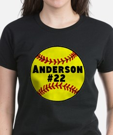 Personalized Softball Tee