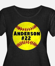 Personalized Softball T