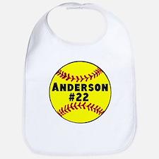 Personalized Softball Bib
